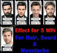 ELEA for MEN Effect for 5 MIN Colour for Hair, Beard and Moustache 100ml Choice