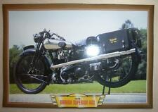 BROUGH SUPERIOR AGS ALPINE GRAND SPORT CLASSIC MOTORCYCLE 1920'S PICTURE 1926