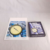 Atari 2600 Pressure Gauge with manual Packrat Games homebrew TESTED & GUARANTEED
