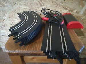 Carerra 1.first cars part lot: straight, turns, unit, controllers