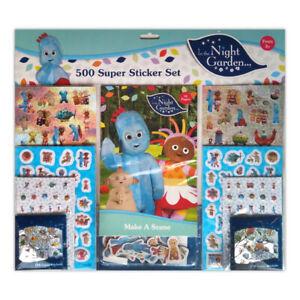 In The Night Garden 500 Sticker Set