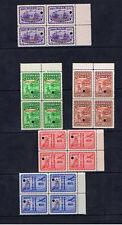 CHINA 1947 50th ANNIVERSARY SPECIMEN BLOCKS OF FOUR
