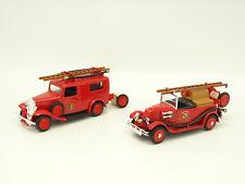Eligor SB 1/43 - Lot de 2 : Citroen Rosalie + Renault NN Pompiers