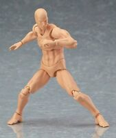 Figma Male Action Figure W Muscules Man Body Youth 2.0 Type Body Movable