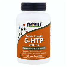 NOW FOODS 5-HTP Double Strength 200 mg 120 VCaps - Supporto neurotrasmettitore
