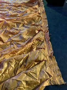 Gold Theatre Backdrop/Curtain