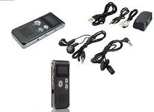 REGISTRATORE AUDIO VOCALE PORTATILE MP3 USB DIGITALE VOICE RECORDER 8 GB