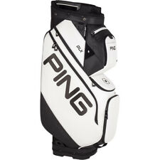 New listing PING DLX 191 Cart Bag White 15-way