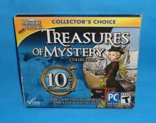 Mystery Masters Collector's Choice Treasure of Mystery 10 Games DVD Teen  New