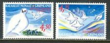 Greenland 2001 Christmas, Birds & Birds in Flight, UNM / MNH