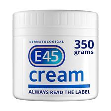 2 X E45 Dermatological Moisturising Cream Tub, 350 g FREE POST