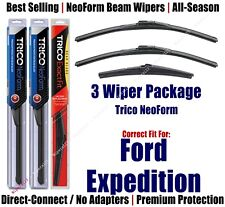 3-Pack Wipers Front & Rear NeoForm - fit 2009+ Ford Expedition  16220x2/16J