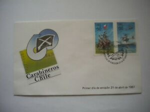 Chile carabineros FDC cavalry helicopter gun