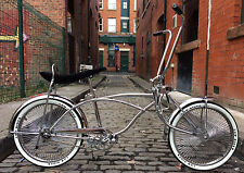 20-Inch American Classic Low Rider Chrome Cruiser Chopper Lowrider Bike New