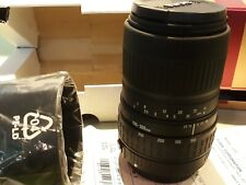 Sigma 100-300mm f/4.5-6.7 DL Lens for Cannon AF ( looks amazing still in box)
