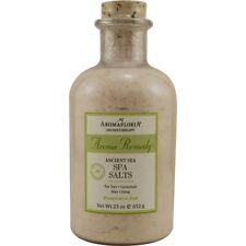 Aroma Remedy Ancient Sea Spa Salts 23 oz Blend Of Tea Tree, Geranium, And May Ch