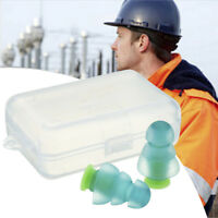 Silicone Noise Cancelling Ear Plugs Waterproof For Sleeping Hearing Protection