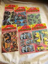stickers 6 packs craft cars scrap book childrens lorry motorbike free postage