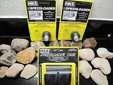 3PACK!! HKS Speedloader HKS 38 special S&W 36A S&W Taurus WITH POUCH