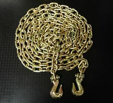 """5/16""""  20' G70 Tow Chain Transport Tie Down Chain for Truck Chain Binder"""