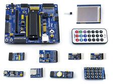 PIC Development Board A for PIC18F series PIC18F4520 MCU + 2.2inch LCD + Modules