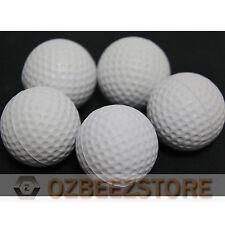 Elastic PU Foam ball for PRACTICE TRAINING indoor Golf BALLS white pack of 50
