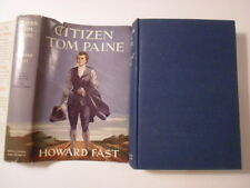 Citizen Tom Paine, Howard Fast, 1943, Wartime Edition, DJ