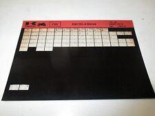 Kawasaki KM100 - A Series Parts List Micro Fiche