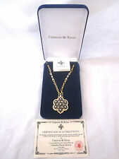 "JBK JACQUELINE KENNEDY BY CAMROSE & KROSS NECKLACE RETRO REPRO 28"" Chain"