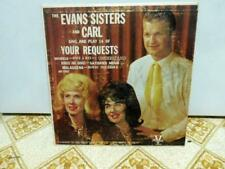 The Evans Sisters and Carl Sing and Play 14 Of Your Requests Autographed LP