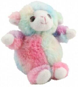 ASHWOOD RAINBOW SOFTIES LAMB - 2629 TOY TEDDY CUTE BABY SHEEP SMALL PASTEL SOFT