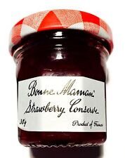 Bonne Maman Strawberry Jam Conserve 15 x 30g mini small jar single portion tray