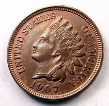 1907 Indian Head Penny // Choice BU // (I921)