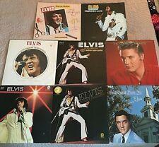 8 Elvis Lp Albums Legendary Promised Land Madison SG Children