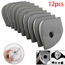 12pcs 4 Layers PM 2.5 Anti Smoke Air Purifying Active Carbon Filters
