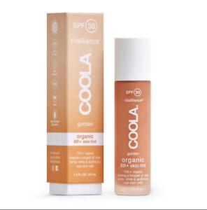 NEW Coola Rosilliance SPF 30 BB +Sunscreen Golden 1.5 oz Skin Tint