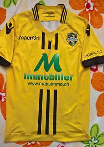 Signal FC (Swiss) 2015 MATCH WORN football shirt jersey trikot maglia maillot