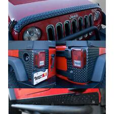 Rugged Ridge 5-Piece Body Armor Guard Kit 07-17 For Jeep Wrangler Jk X 11651.51