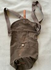 WWII Swedish Type 4 Gas Mask Bag Stamped: FKA 1942