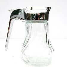 Vintage Retro Stoha Diner Style Glass Milk Jug