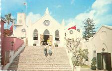 Lot of 3 Bermuda Church Postcards Postmark 1959 - 1984 St. James & Peter Church