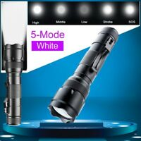 Tactical WF-502B Led 3000LM Flashlight  Torch Lamp Camping Hunting New