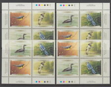 CANADA #1839-1842 46¢ Birds of Canada Match Set of Plate Blocks MNH