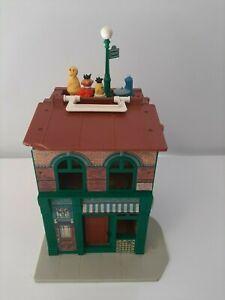 Vintage Fisher Price Seasame Street Play Family Playset