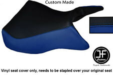Vinilo Negro Azul R Personalizado Para Kawasaki Ninja ZX12R ZX 12 R 1200 00-05 Funda De Asiento