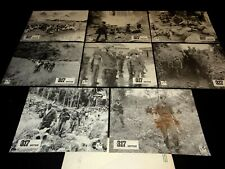 LA 317e SECTION ! Schoendoerffer jeu  photos cinema lobby card 1964 indochine
