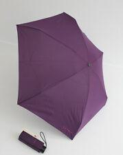 Esprit petito kleiner Regenschirm 17 cm Taschenschirm dunkles lila Damen Herren