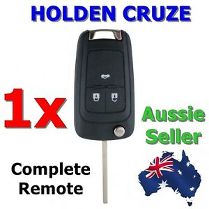1x Holden Cruze Remote Flip key JG JH 2009 2010 2011 2012 2013 2014 Transponder