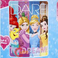 Disney Princess Blanket Plush Microfiber Throw Twin - Dreamers 46in x 60in