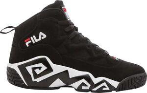 Fila | MB Basketball Shoe (Men's) in Black/White/Firestone Red - NEW